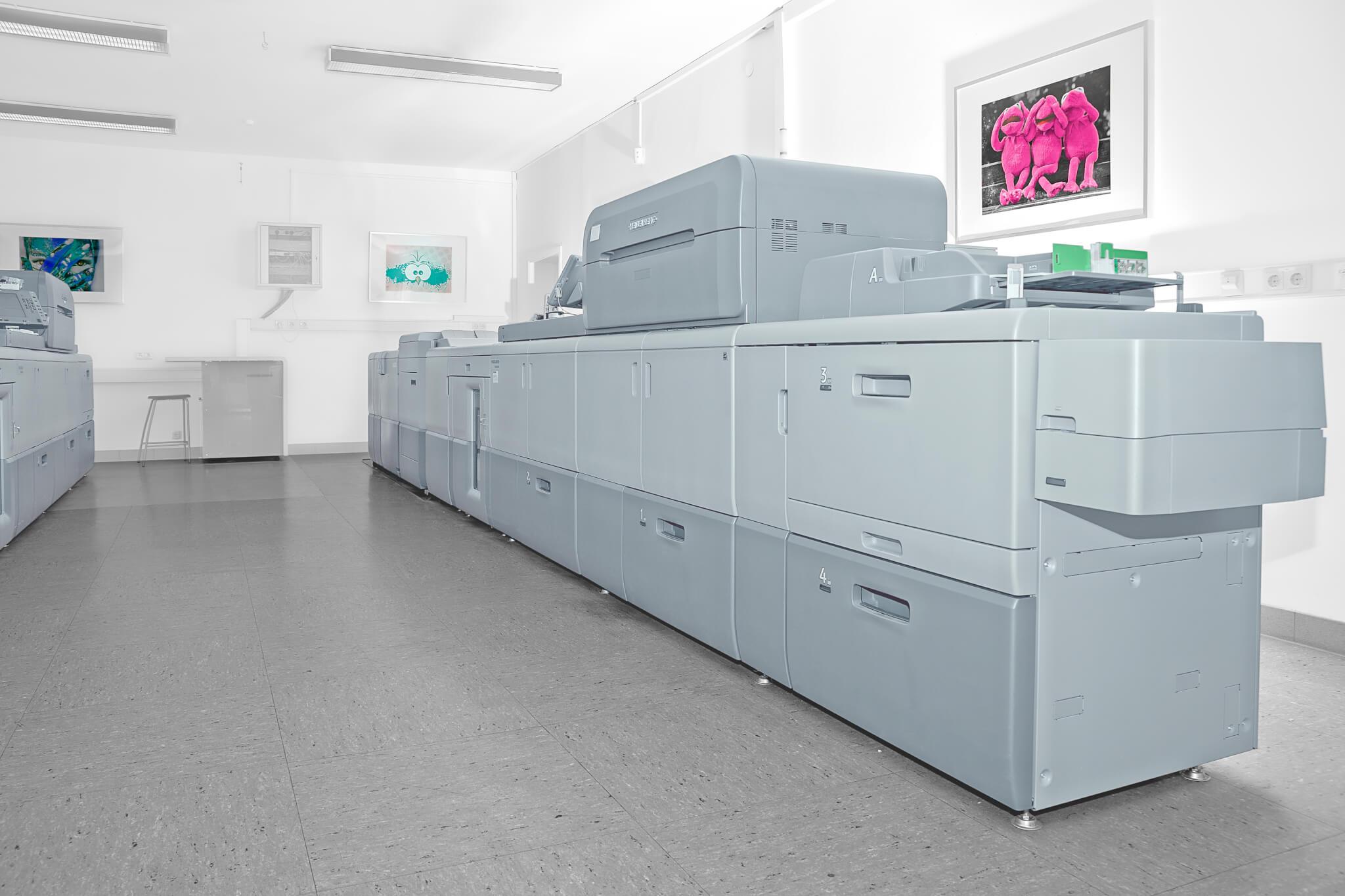 Überzeugen Sie sich von der Qualität unseres Digitaldrucks