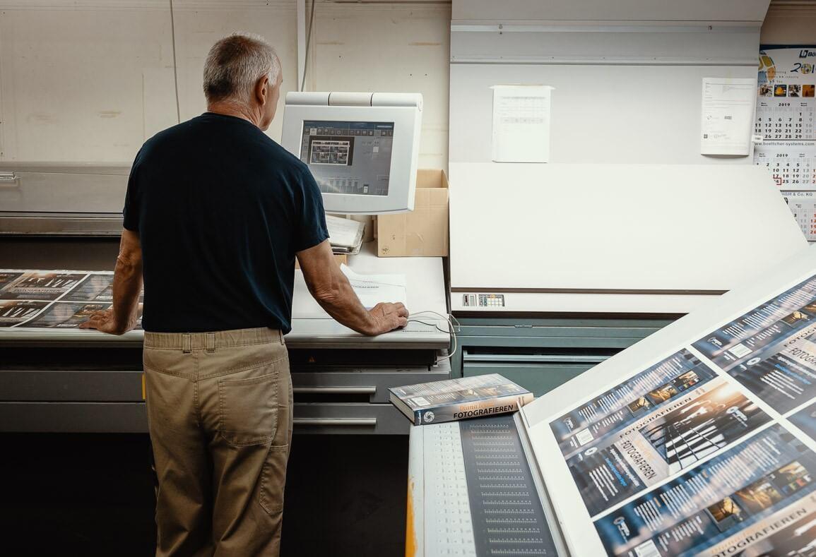 Unsere Offsetdruckerei bei Dräger+Wullenwever Ihrer Druckerei in Lübeck
