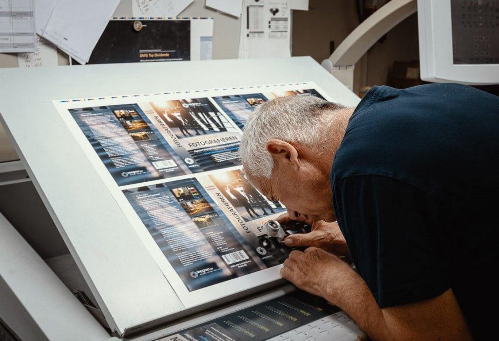 Offsetdruck 5-Farben. Wir sind Ihre Druckerei in Lübeck